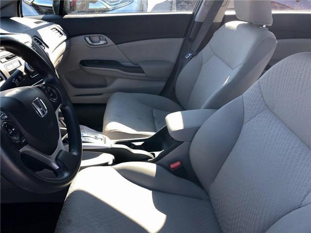 2015 Honda Civic LX (Stk: U17718) in Goderich - Image 8 of 17