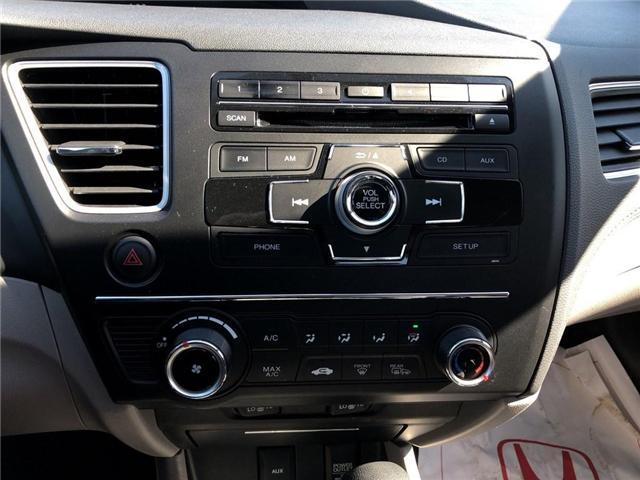 2015 Honda Civic LX (Stk: U17718) in Goderich - Image 13 of 17