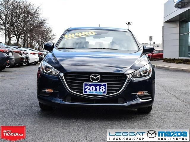 2018 Mazda Mazda3 Sport GX-AUTOMATIC, A/C, REAR CAMERA, BLUETOOTH (Stk: 1847) in Burlington - Image 2 of 23