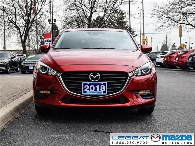 2018 Mazda Mazda3 Sport GS- AUTO, BLUETOOTH, REAR CAMERA, HEATED STEERING (Stk: 1860LT) in Burlington - Image 2 of 23