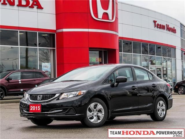 2015 Honda Civic LX (Stk: 3295) in Milton - Image 1 of 22