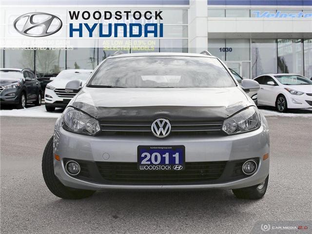 2011 Volkswagen Golf 2.0 TDI Comfortline (Stk: P1392) in Woodstock - Image 2 of 27