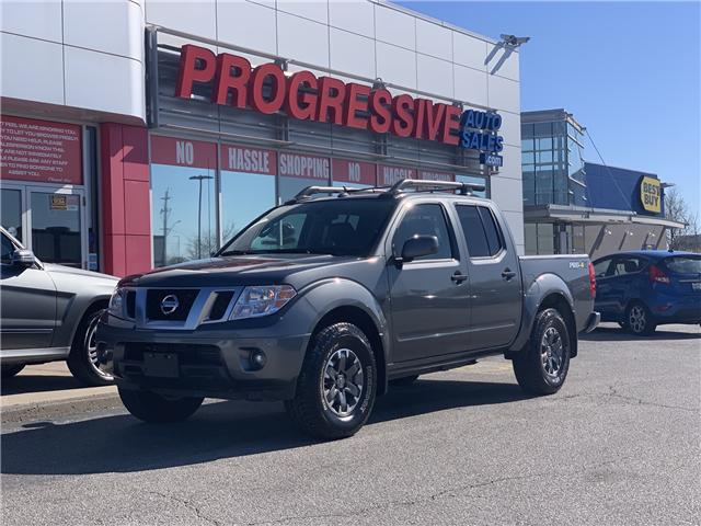 2019 Nissan Frontier PRO-4X (Stk: KN714683) in Sarnia - Image 1 of 28
