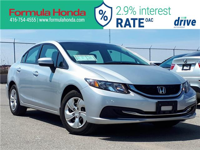 2015 Honda Civic LX (Stk: 19-0873A) in Scarborough - Image 1 of 25