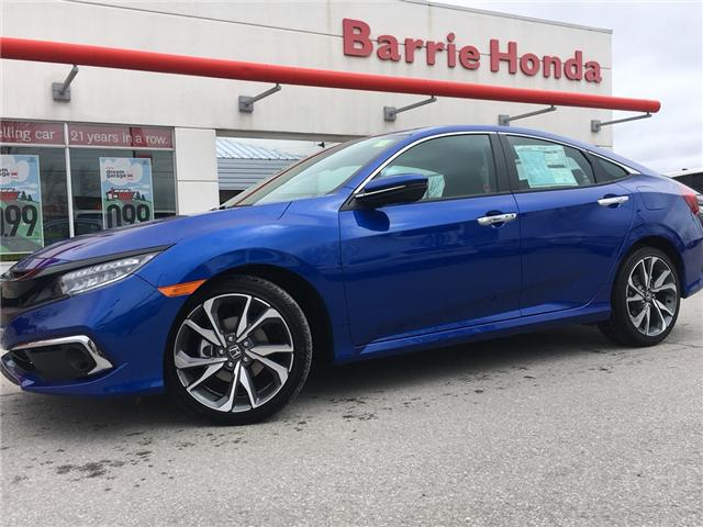 2019 Honda Civic Touring (Stk: 19714) in Barrie - Image 1 of 12