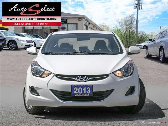 2013 Hyundai Elantra  (Stk: 13HG132) in Scarborough - Image 2 of 26