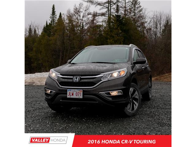 2016 Honda CR-V Touring (Stk: U5147A) in Woodstock - Image 1 of 9