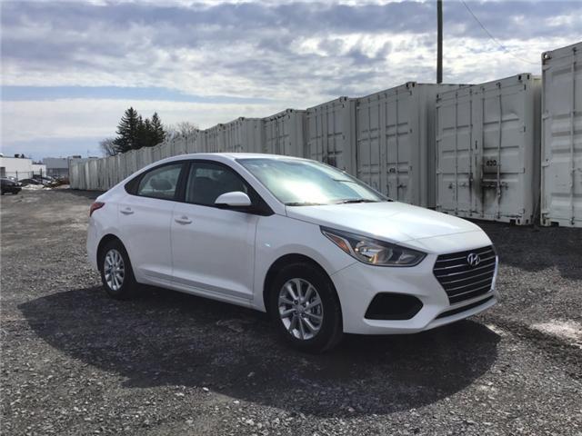 2019 Hyundai Accent Preferred (Stk: R95428) in Ottawa - Image 1 of 11