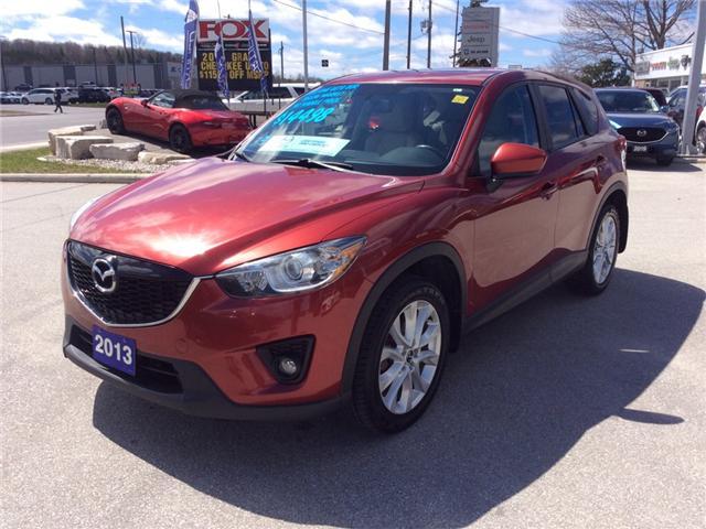 2013 Mazda CX-5 GT (Stk: 03341P) in Owen Sound - Image 4 of 21