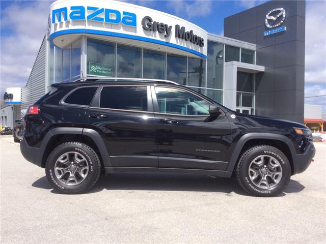 2019 Jeep Cherokee Trailhawk (Stk: 03337P) in Owen Sound - Image 1 of 22
