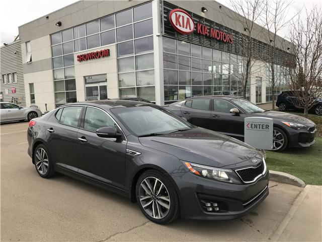 2014 Kia Optima SX Turbo (Stk: 7296) in Edmonton - Image 1 of 26