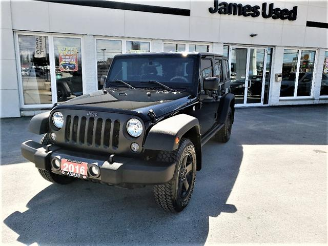 2016 Jeep Wrangler Unlimited Sport (Stk: N18186A) in Timmins - Image 1 of 15
