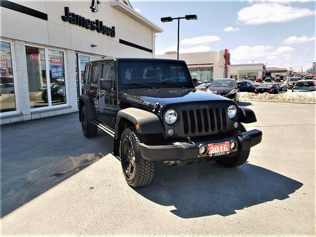 2016 Jeep Wrangler Unlimited Sport (Stk: N18186A) in Timmins - Image 2 of 15