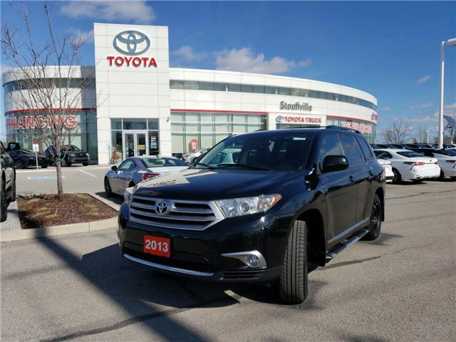 2013 Toyota Highlander V6 (Stk: P1713A) in Whitchurch-Stouffville - Image 1 of 14