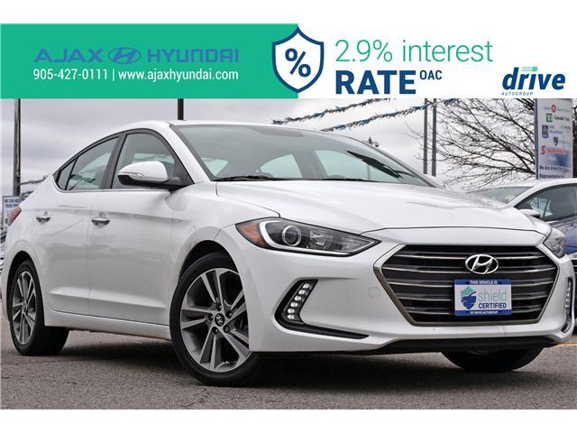 2017 Hyundai Elantra Limited (Stk: P4690L) in Ajax - Image 1 of 35