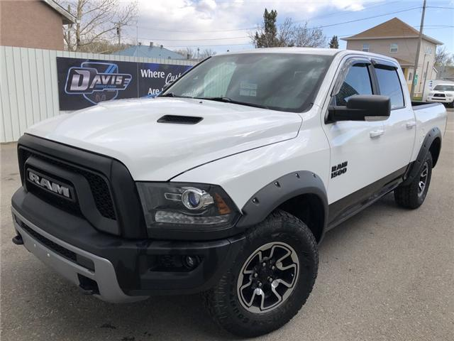 2015 RAM 1500 Rebel 1C6RR7YT7FS771306 14663 in Fort Macleod