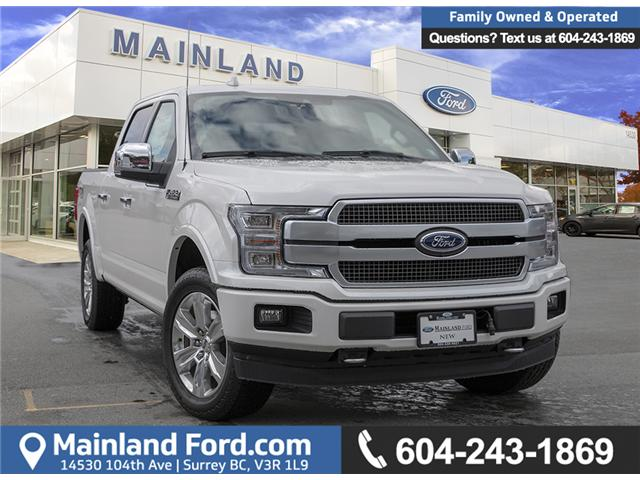 2019 Ford F-150 Platinum (Stk: 9F19404) in Vancouver - Image 1 of 30