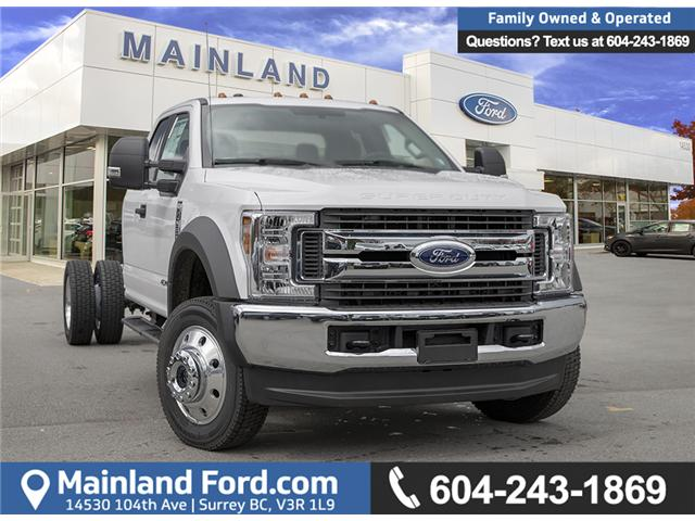 2019 Ford F-550 Chassis XLT (Stk: 9F58795) in Vancouver - Image 1 of 23