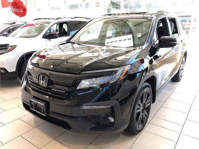 2019 Honda Pilot Black Edition (Stk: 1K52420) in Vancouver - Image 1 of 4