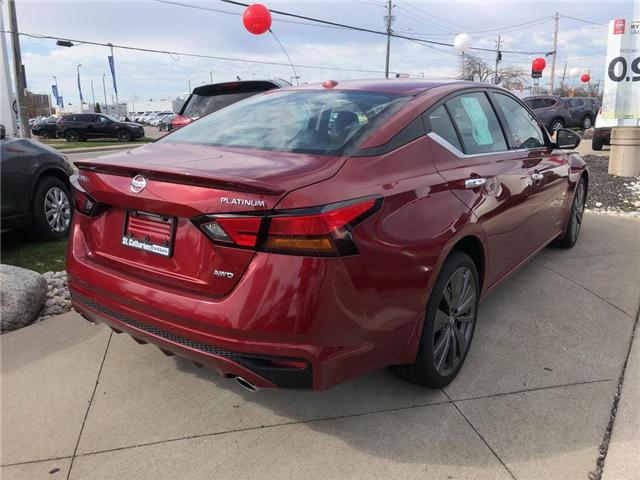 2019 Nissan Altima 2.5 Edition ONE (Stk: AL19002) in St. Catharines - Image 4 of 5