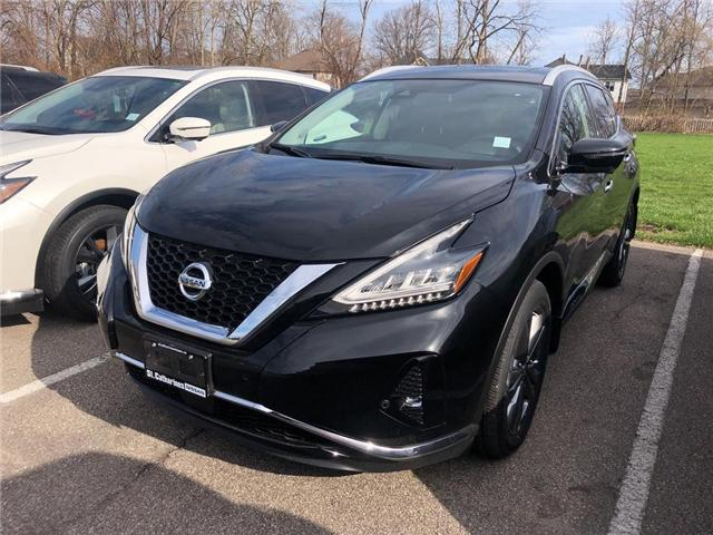 2019 Nissan Murano Platinum (Stk: MU19018) in St. Catharines - Image 1 of 5