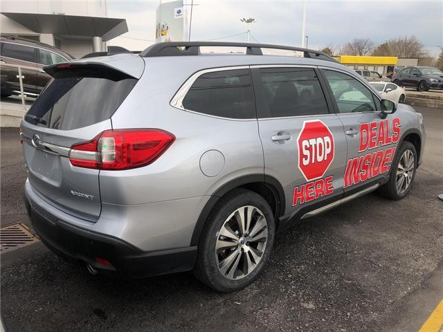 2019 Subaru Ascent Limited (Stk: S4352) in St.Catharines - Image 4 of 5