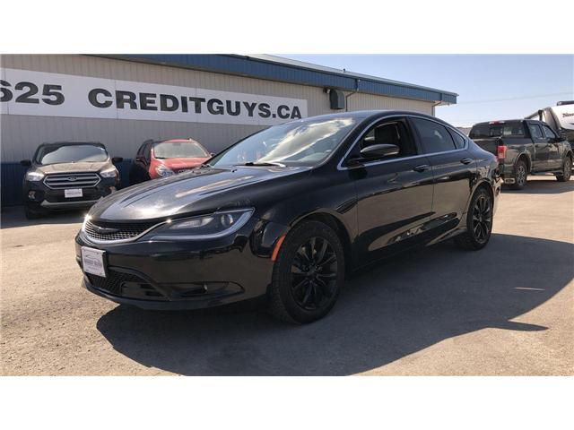 2015 Chrysler 200 C (Stk: I7562A) in Winnipeg - Image 1 of 25