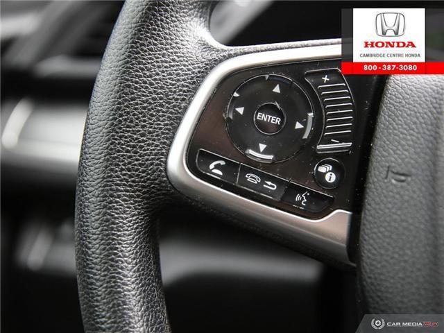 2016 Honda Civic LX (Stk: U4948) in Cambridge - Image 18 of 27