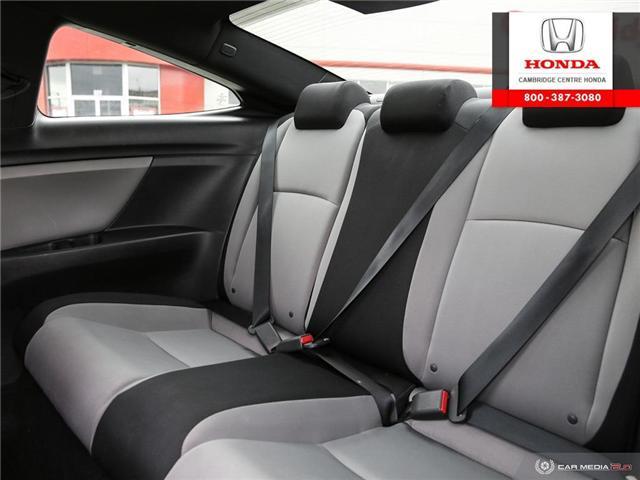 2016 Honda Civic LX (Stk: U4948) in Cambridge - Image 24 of 27