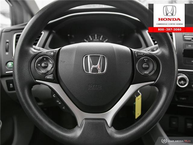 2014 Honda Civic LX (Stk: 18702B) in Cambridge - Image 14 of 27