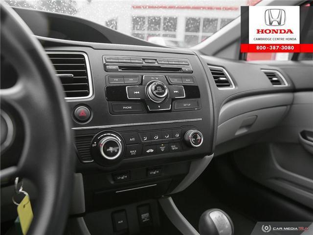 2014 Honda Civic LX (Stk: 18702B) in Cambridge - Image 20 of 27