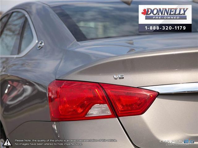 2018 Chevrolet Impala 2LZ (Stk: CLKUR2260) in Kanata - Image 11 of 29