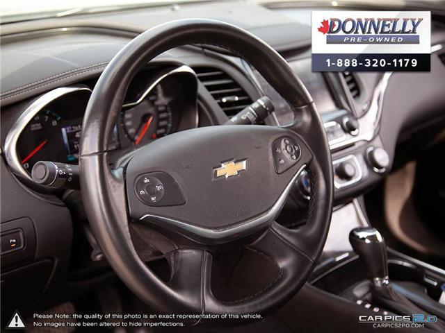 2018 Chevrolet Impala 2LZ (Stk: CLKUR2260) in Kanata - Image 12 of 29