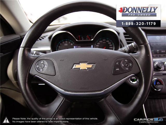 2018 Chevrolet Impala 2LZ (Stk: CLKUR2260) in Kanata - Image 13 of 29