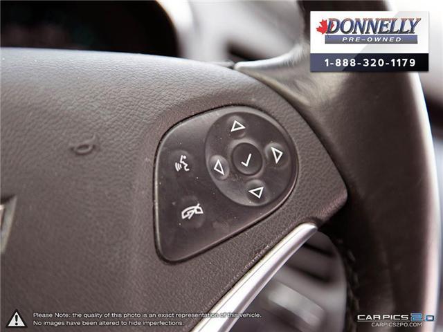 2018 Chevrolet Impala 2LZ (Stk: CLKUR2260) in Kanata - Image 17 of 29