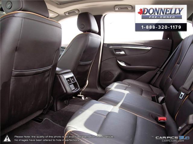 2018 Chevrolet Impala 2LZ (Stk: CLKUR2260) in Kanata - Image 23 of 29