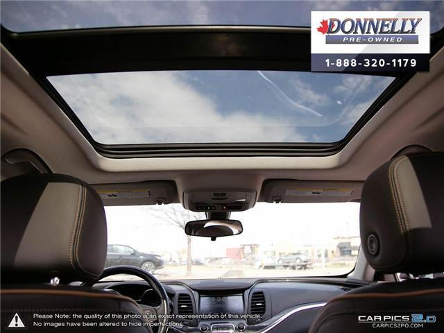 2018 Chevrolet Impala 2LZ (Stk: CLKUR2260) in Kanata - Image 25 of 29