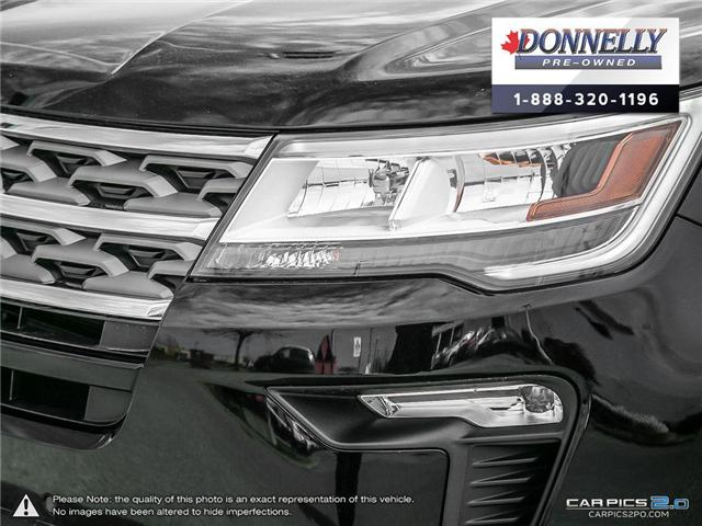 2018 Ford Explorer XLT (Stk: CLMUR958) in Kanata - Image 9 of 28