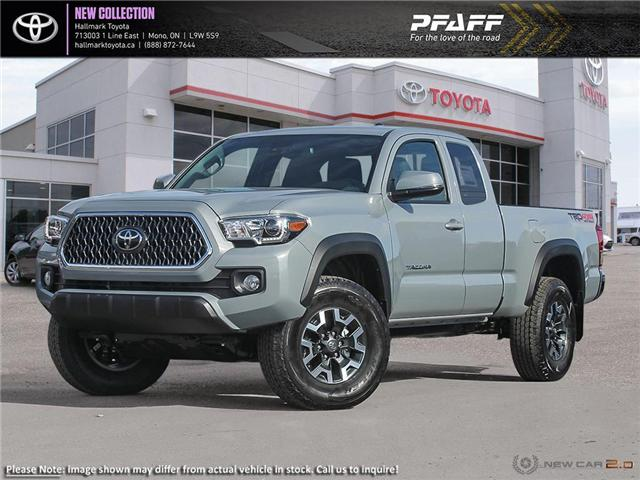 2019 Toyota Tacoma 4x4 Access Cab V6 TRD Off-Road 6M (Stk: H19412) in Orangeville - Image 1 of 23