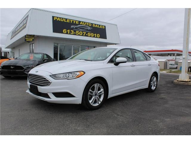 2018 Ford Fusion SE (Stk: 2747) in Kingston - Image 1 of 11