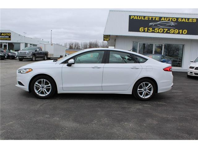 2018 Ford Fusion SE (Stk: 2747) in Kingston - Image 2 of 11