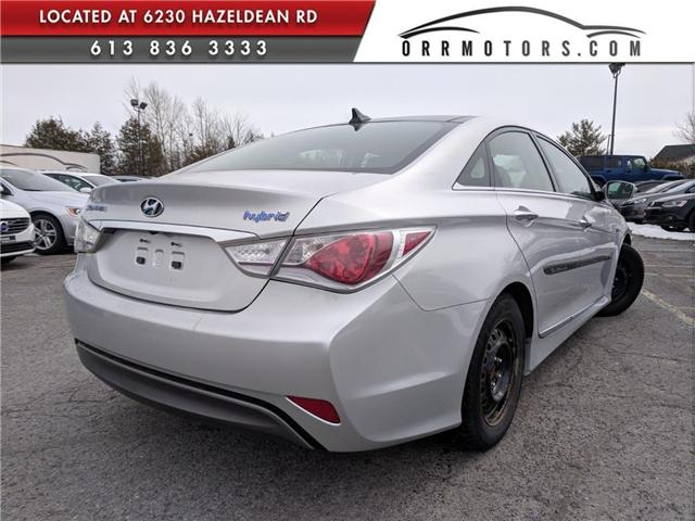 2012 Hyundai Sonata Hybrid Premium (Stk: 5468-3) in Stittsville - Image 2 of 5