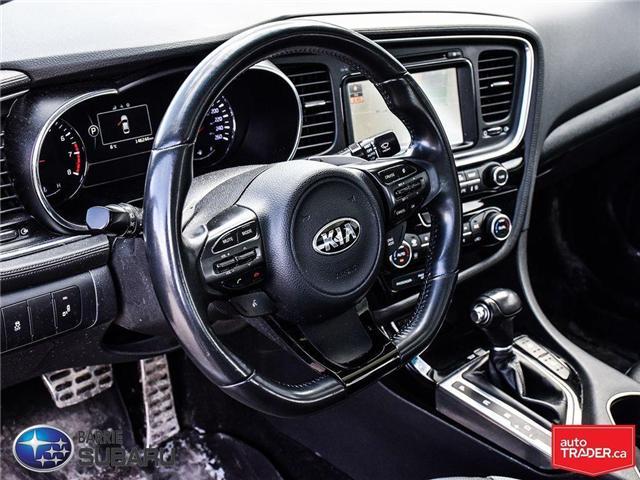 2014 Kia Optima SX Turbo (Stk: 19SB106A) in Innisfil - Image 10 of 21