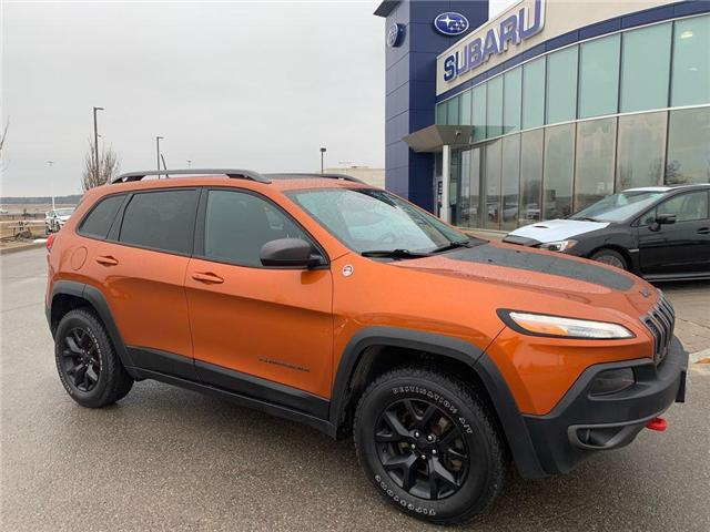 2016 Jeep Cherokee Trailhawk (Stk: 19SB430A) in Innisfil - Image 1 of 17