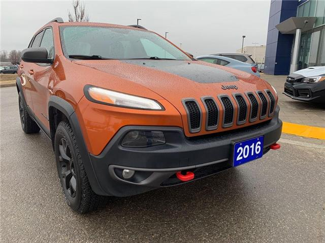 2016 Jeep Cherokee Trailhawk (Stk: 19SB430A) in Innisfil - Image 2 of 17