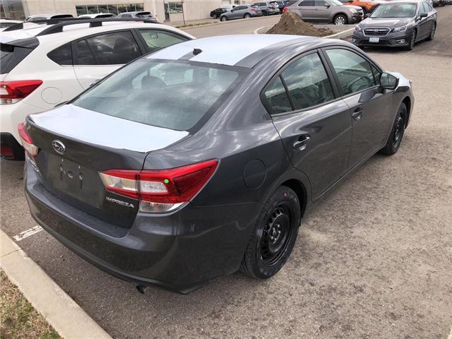 2019 Subaru Impreza Convenience (Stk: 19SB485) in Innisfil - Image 4 of 5