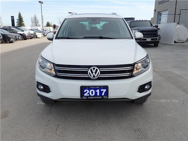 2017 Volkswagen Tiguan Comfortline (Stk: 19SB356A) in Innisfil - Image 3 of 14