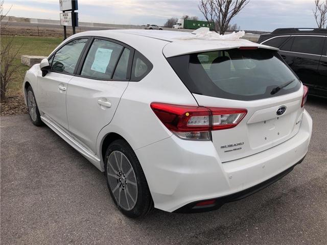 2019 Subaru Impreza Touring (Stk: 19SB501) in Innisfil - Image 4 of 4
