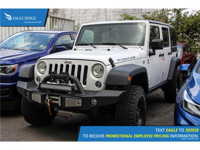 2016 Jeep Wrangler Unlimited Rubicon (Stk: 168205) in Coquitlam - Image 1 of 4