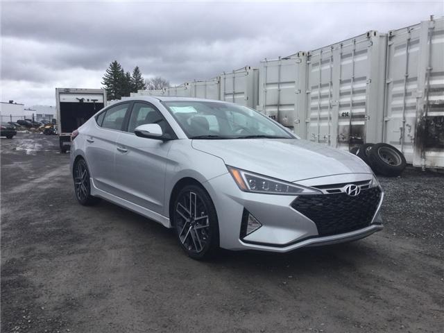 2019 Hyundai Elantra Sport (Stk: R95848) in Ottawa - Image 1 of 11